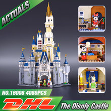 LEPIN 16008 Creator Cinderella Princess Castle City  Model Building Minifigures Block Kid Toys Gift Compatible Legeo 71040