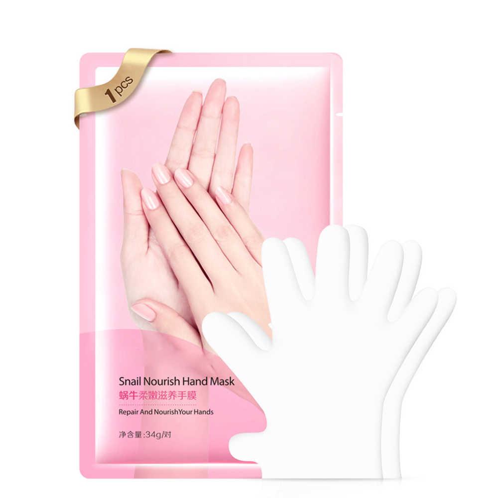 Snail Serum Extract Moisturizing Anti-Aging Hand Mask Super Smoothing Whitening Hand Gloves Moisturizing Treatment