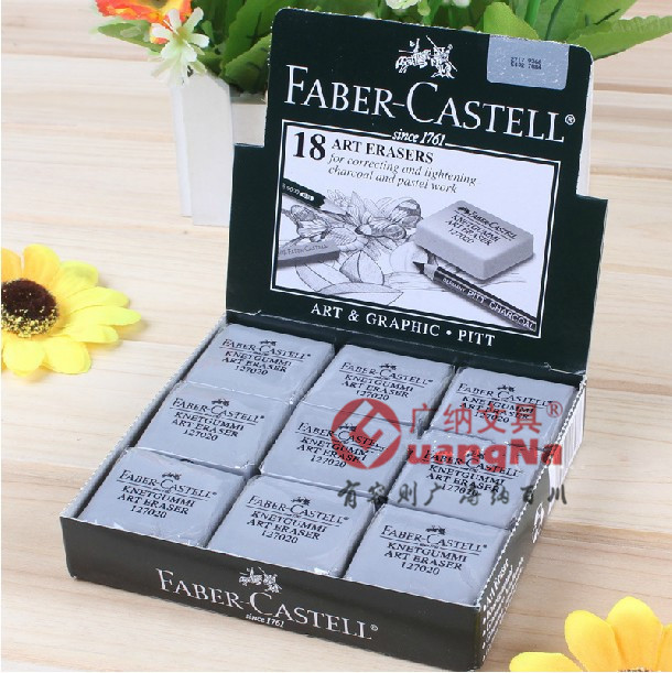 Art-Eraser Plasticine Pencil Castell Drawing Kneadable Not-Faber Sketch Professional