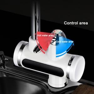 Image 5 - Kỹ thuật số Điện Nước Nước Tập Ăn Liền Vòi Chậu Nóng Lạnh Làm Nóng Vòi Tankless Tức Thời Nước EUPlug
