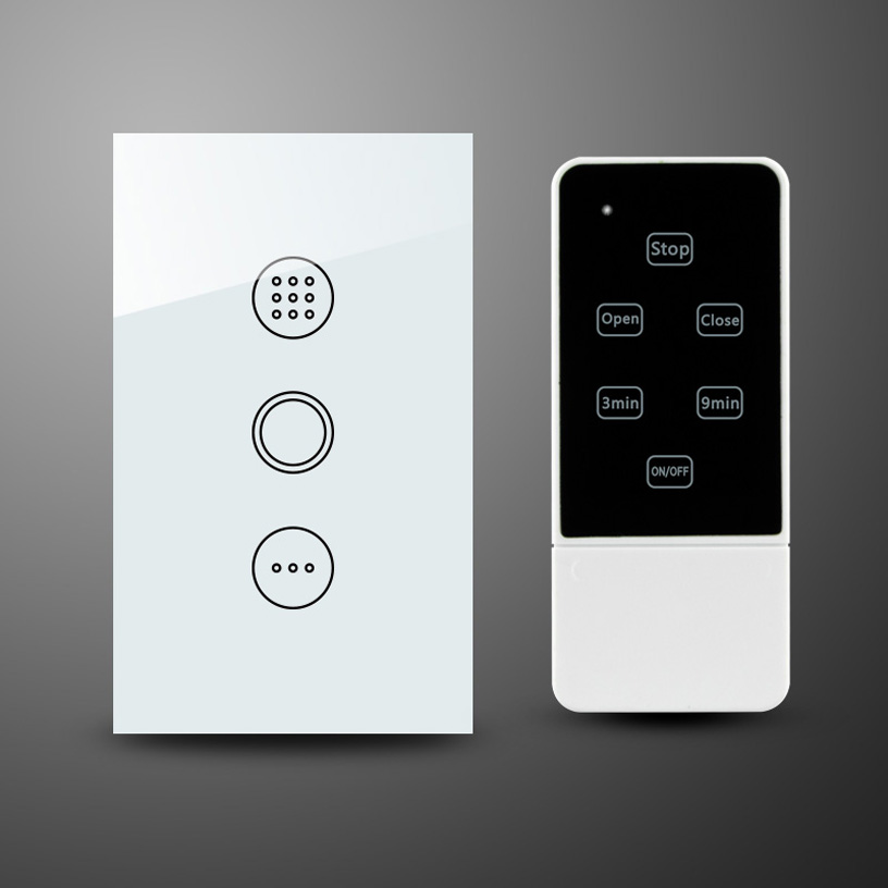 US remote control light timer orvibo switch RF433 interruptor de luz touch switch smart home aneis push button light rf433switch xind ele crystal glass panel smart home touch light wall switch with remote controller interruptor de luz xdth03b blr 8