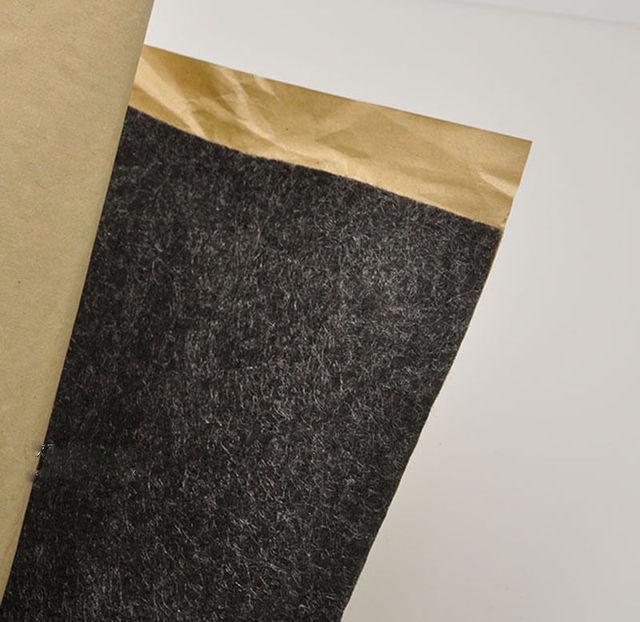 스피커 천 자체 접착 펠트 서브 우퍼 박스 테이프 스트립 패치 1m x 0.5m