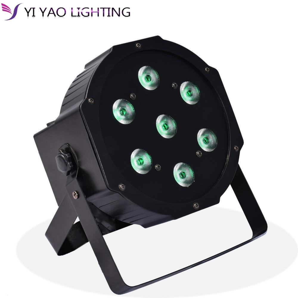 Stage Lighting Effect 7x10w Rgbw Stage Dj Lighting Led Dmx Par Can Light Party Lights Dj Disco Lights Wash Effect Sound Activated Modes Refreshing And Enriching The Saliva