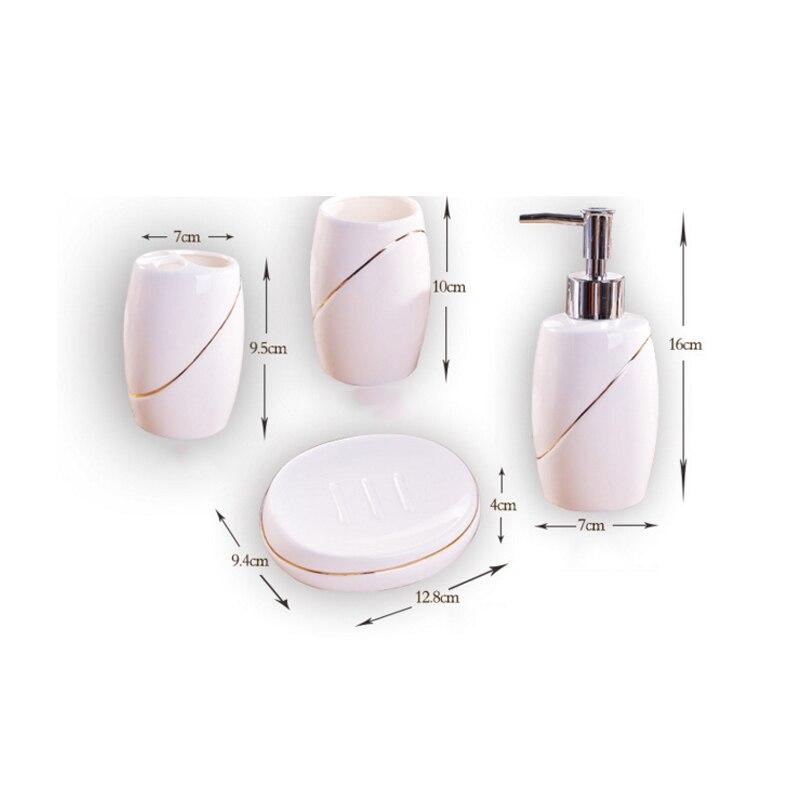 Aliexpress.com  Comprar 5 piezas de porcelana de baño europeo baño ... c5c94b9d5d09