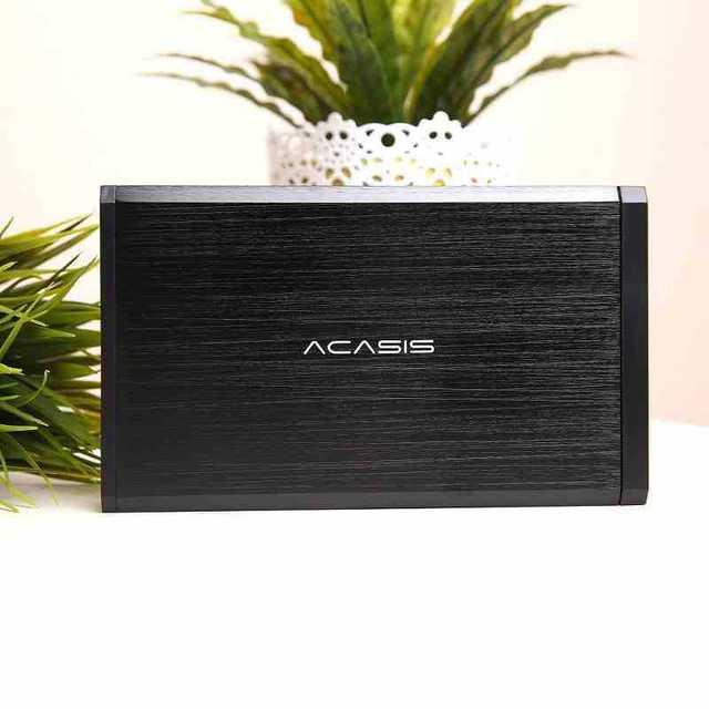 Acasis BA-06USI Universal de Alumínio De 3.5 polegadas IDE SATA USB 2.0 Serial Paralela Dupla Usando 10060TW Hdd Caixa de Disco Rígido