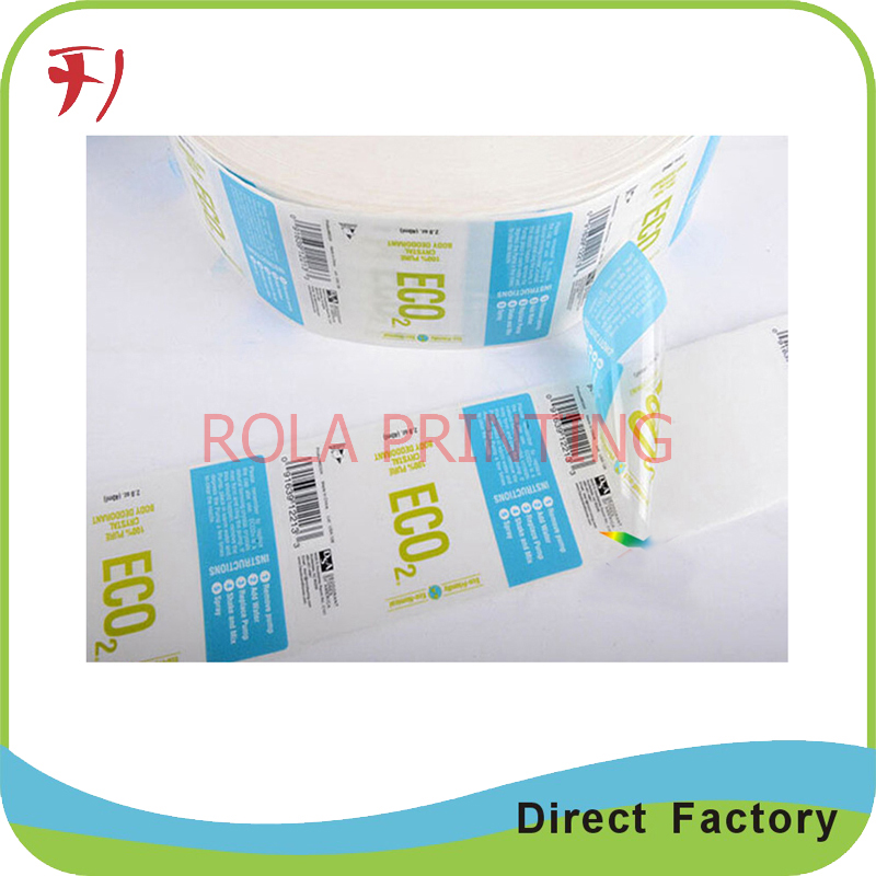 100% manufacture printing custom sticker promotion, pet promotional label sticker, removable promotion label stikcer
