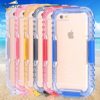 Best Selling Top Quality Waterproof Silicon Case For IPhone 4 4S Portable Ultrathin Underwear Bags