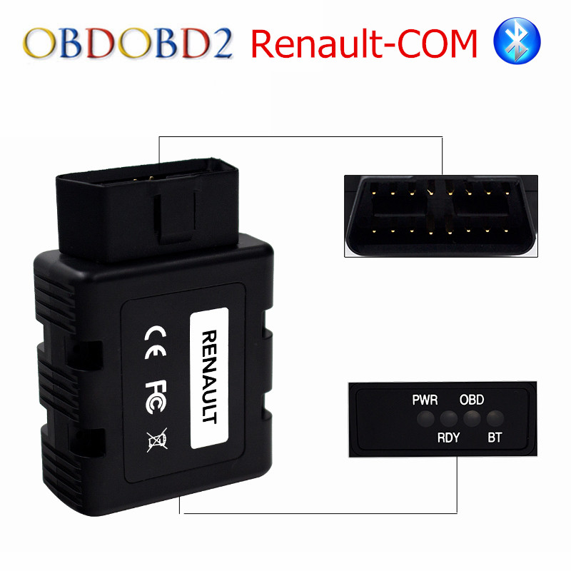 Newest Renault-COM Bluetooth Diagnostic Tool for Renault COM Diagnostic & Programming Tool Replacement of Can Clip ami exclusively for yoox com толстовка