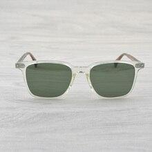 5195d85feb Pueblos Oliver gafas De Sol del rectángulo Opll Sunglass hombres cuadrado  conducción gafas De Sol OV5316