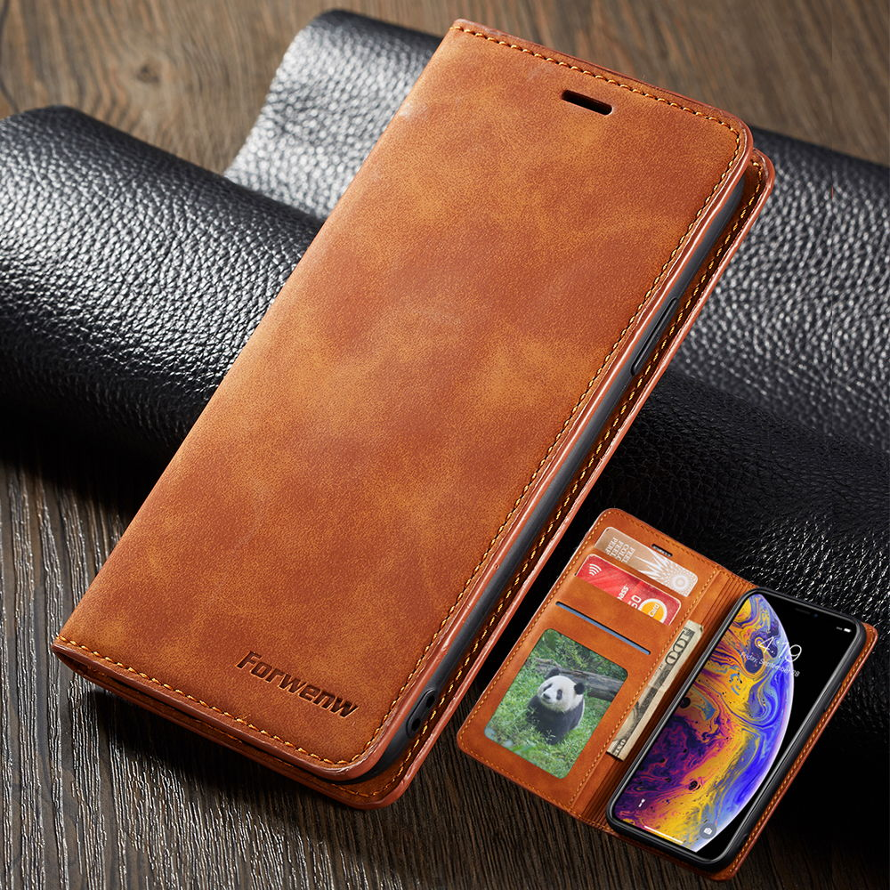 Luxury Flip <font><b>Leather</b></font> <font><b>Case</b></font> for <font><b>Apple</b></font> <font><b>iPhone</b></font> 11 Pro MAX 6 6S 7 8 Plus X XR XS MAX 5 S <font><b>SE</b></font> Magnetic Phone Cover Accessories Back Bag image