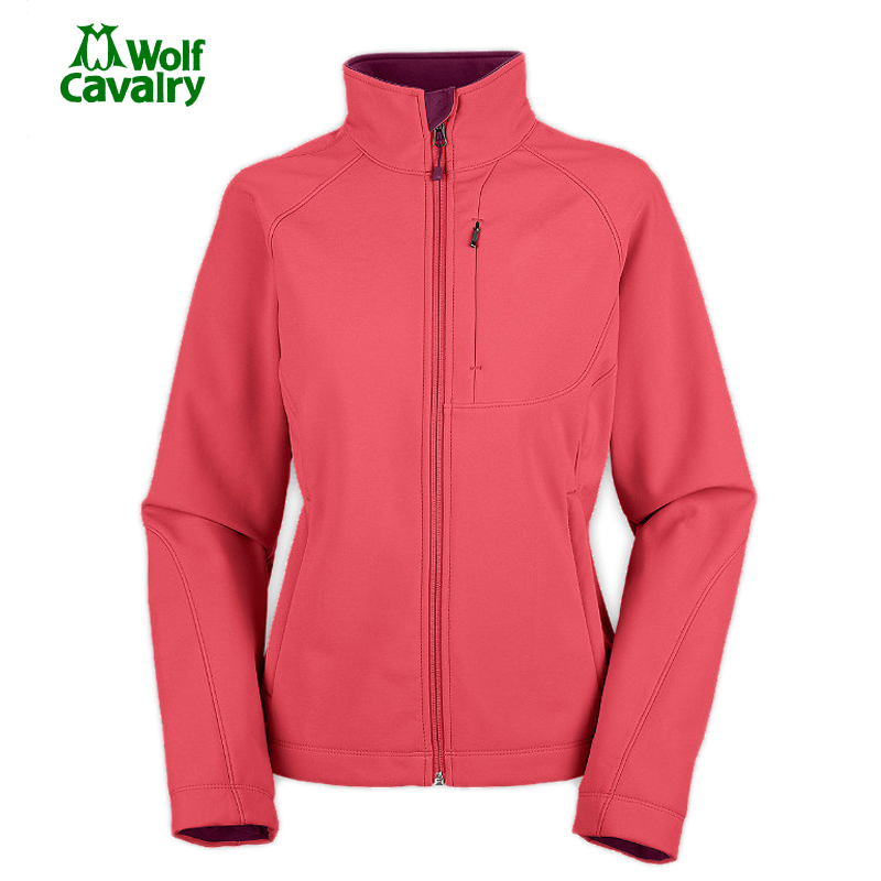 CavalryWolf Female Softshell Jackets Waterproof Outdoor Sport Warm Coat Hiking Camping Trekking