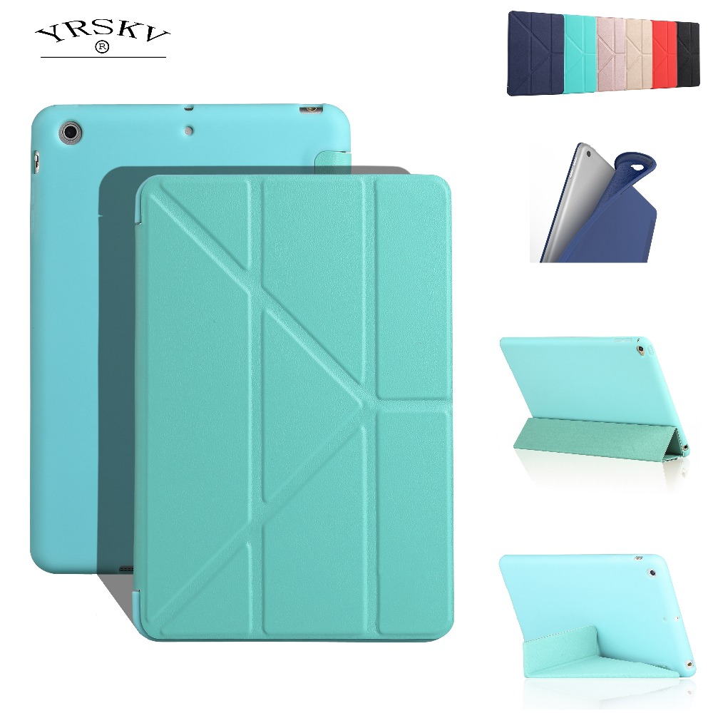 Humorous Case For Apple Ipad Mini 1 2 3 yrskv Soft Silicone Shell Deformation Cover Smart Wake Up Sleep Shell,for Ipad Mini 3 2 1 Case Computer & Office
