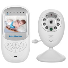 Babykam radio nanny baby monitor 2.4 inch IR Night light Vision Intercom Lullabies Temperature Monitor video nanny baby monitors