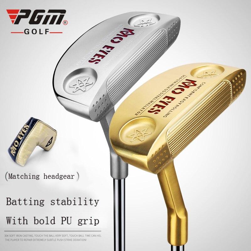 PGM nouveau Club de Golf hommes Club mâle Putter 304 doux fer coulée doux toucher équipement d'entraînement de Golf sport Putter envoyer Putter couverture