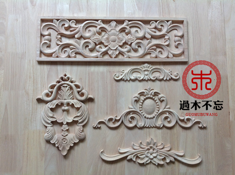 Great Donu0027t Forget The Central Dongyang Wood Carving Wooden Decorative Decal  Background Wall Furniture Door Flower Window Decals C.flo In Figurines U0026  Miniatures ...