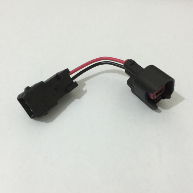 USCAR EV6 Female To EV1 Male Fuel Injector Connectors Adapters LS1 LS6 LT1 EV1 Engine Wire Harness To LS2 LS3 LS7 EV6 Adaptor