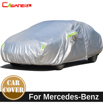 Cawanerl Car Cover Waterproof Sun Snow Rain Protection Cover For Mercedes Benz CLA CLK CLS CL Class SLR W208 C209 C207 A207 W219