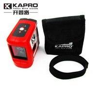 KAPRO Magnetic Self leveling Mini Infrared Laser Level Cross beam 2 line Level Measurement Instrument With Magnet