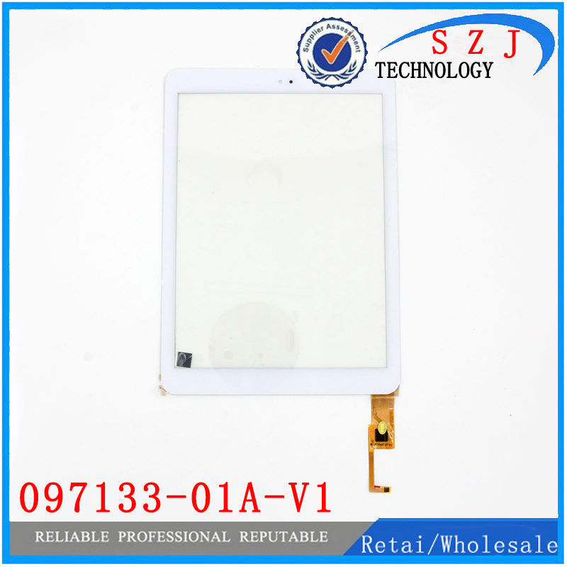 New 9.7 '' inch For CUBE U65GT Talk9X 097133-01A-V1 Touch Screen Digitizer Glass Sensor Tablet Pc Replacement Parts 8inch f wgj80095 v1 tablet pc touch screen panel digitizer glass sensor u27gt 3gh u27gt xc pg0800 011fpc a0 xc gg0800 008 v1 0