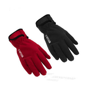 Windproof gloves fleece gloves in winter outdoor men's gloves female ski gloves ride thermal cycling gloves фото