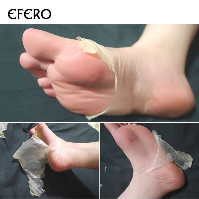 1 paar Baby Voeten Scrubben Voet Masker Magic Skin Peeling Dode Huid Voeten Masker Sokken Sosu Sokken voor Pedicure Sokken crème TSLM2
