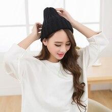 Новая шерстяная шапка для завивки зимняя шапка теплая вязаная насосная точечный колпак Спортивная Беговая шапка