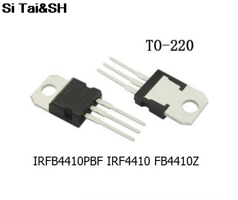 10PCS IRFB4410Z TO-220 IRFB4410ZPBF TO220 IRFB4410 IRFB4410PBF New And Original IC
