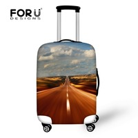 FORUDESIGNS Luggage Covers Protective For Trunk Cases Apply To 18 30 Trolley Suitcase Thick Elastic Dust