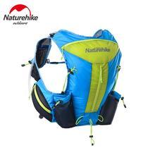 Naturehike Ultralight men women sports bag trail running bag outdoor bicycle travel backpack 0.325kg NH 12L цена