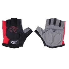 Half Finger font b Gloves b font Cycling Bike Short Mountain Bike Riding Sports fitness font
