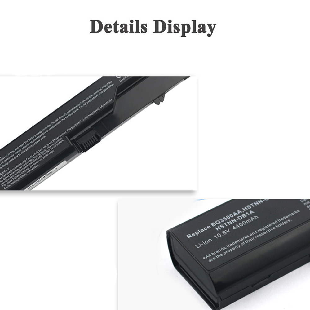 Alta capacidad Li-ion Bater/ía de 6600/mAh para HP 420 4320t 4525s 4421s HP Compaq 320/321/325/326/420/421/620 4520s 4525s 4720s 4520/&nb 4325s 621 625 4326s 4420s 425 4425s 620 HP ProBook 4320s 4321s