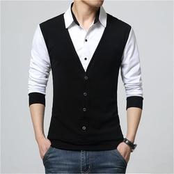 Design New 2019 Men s Brand Polo Shirt Long Sleeves Casual Spring Autumn Clothes Plus Asian Size M-3XL 4XL 5XL 5
