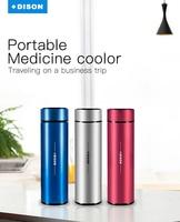 Dison охладитель инсулина чехол для путешествий колба инсулин переносной мини-холодильник ручка для инъекций инсулина охладитель коробка ди...