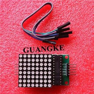 Dot Led Matrix Module MCU LED Display Control Module Kit