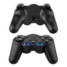 2017 New High Quality 2.4Ghz Wireless Game Handle Controller Remote Joystick GamePad For Android Smart TV PC