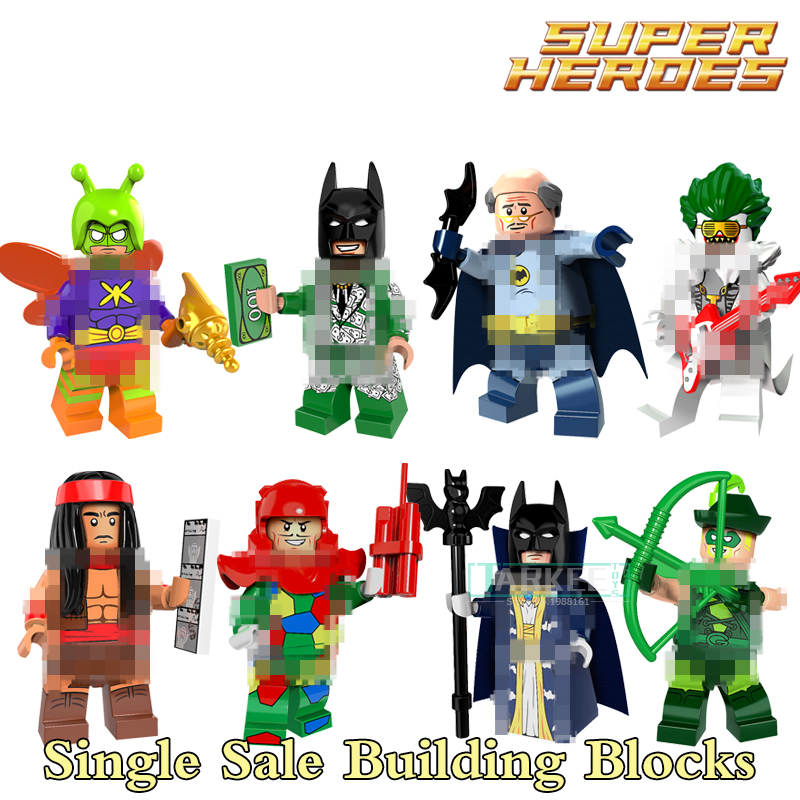 Single Sale Bat Alfred Apache Chief Super Hero Building Block Action Master Batman Figures Fantastic Toys Good Gift PG8110