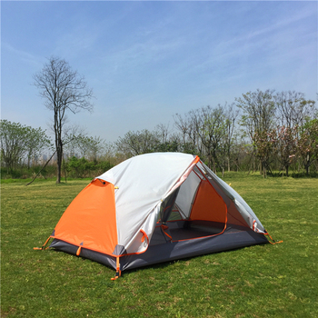 цена на 2 Person Tent for Camping - Backpacking - Hiking - Best 3 Season Outdoor Lightweight Sports Waterproof tent come with footprint