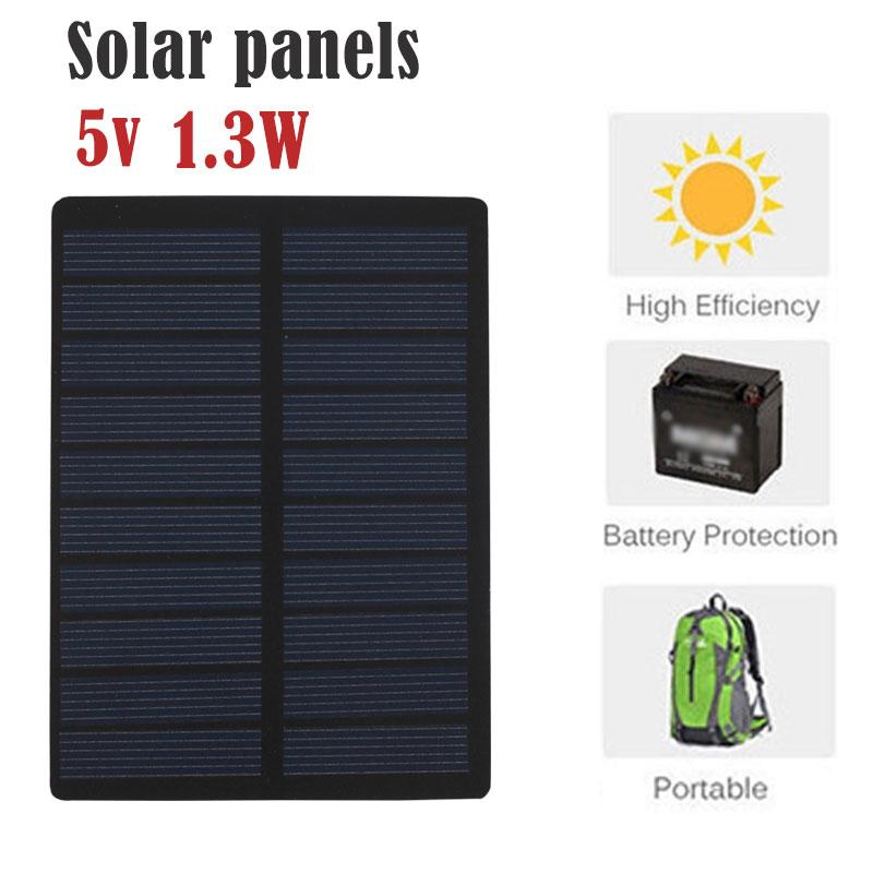 1.3W 5V Polysilicon Solar Cell Solar Light Solar Charging ...