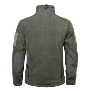 Image 3 - Mege 브랜드 의류 코트 남성 Thicken Warm Military Army 양털 재킷 패치 워크 멀티 포켓 Polartec Mens Jacket and Coats
