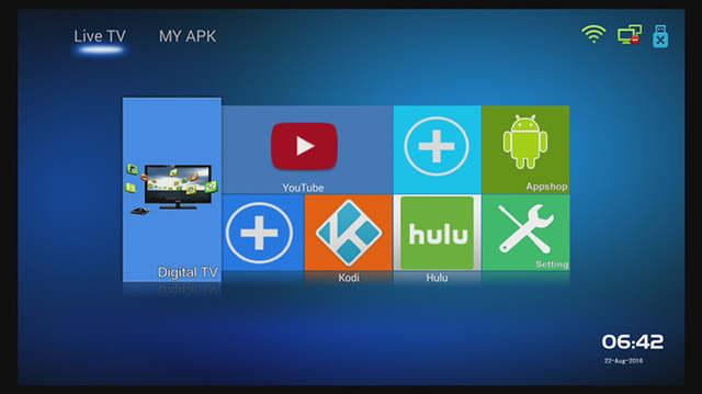 A9 Plus DVB S2 DVB T2 DVB C Android Combo Receiver Satellite