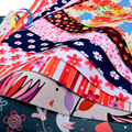 1mm Floral Soft Felt Fabric,Printed Polyester NonWoven Felt Cloth,Or DIY Handmade Home Pattern Decoration or Sewing Dolls&Crafts
