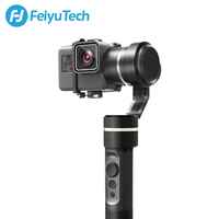 FeiyuTech fy G5 Splashproof 3 axis Handheld Gimbal For GoPro HERO 6 5 4 3 3+ Xiaomi yi 4k SJ AEE Action Cameras Bluetooth APP