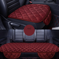 Front+Rear 5 Seats Plush car seat covers For Mercedes Benz A B C D E S series Vito Viano Sprinter Maybach CLA CLK car seats
