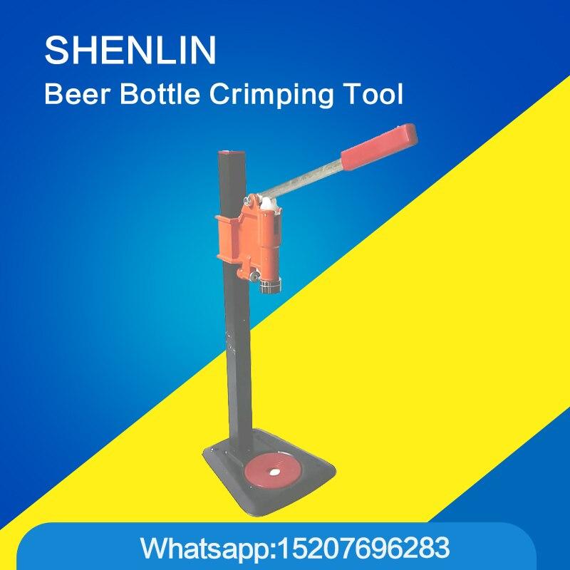 Manual beer bottle crimping capping tools equipment cap sealing machine packer CAP OD 30mm  bottle height 0 500mm|bottle bottle|bottle cap crimping tool|bottle cap sealing machine - title=