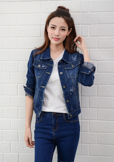 Aliexpress.com : Buy Denim Jacket Women Short Jeans Overcoat ...