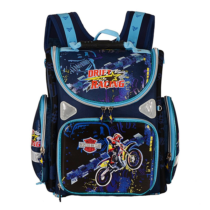Children's Backpack School Bags for Boys EVA Folded Orthopedic Spiderman Plane Motorcycle Pattern Kids Satchel Mochila Infantil kindergarten new kids school backpack monster winx eva folded orthopedic baby school bags for boys and girls mochila infantil