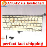 Perfect Testing Brand New A1342 US Keyboard For Macbook 13 3 A1342 US Keyboard Clavier Without