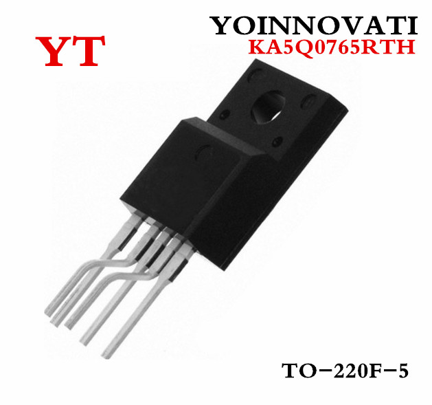 Free shipping 20pcs/lot KA5Q0765RTH KA5Q0765 5Q0765 0765 5Q0765RT IC FPS SWITCH CTV TO-220F-5