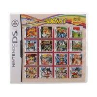 Nintendo NDS Video Game Cartridge Console Card 500 IN 1 USA English Language Version