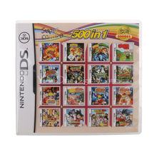 Nintendo NDS Video Spiel Patrone Konsole Karte 500 IN 1 USA Englisch Sprache Version